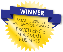 ACFB Winner small business Whitehorse award